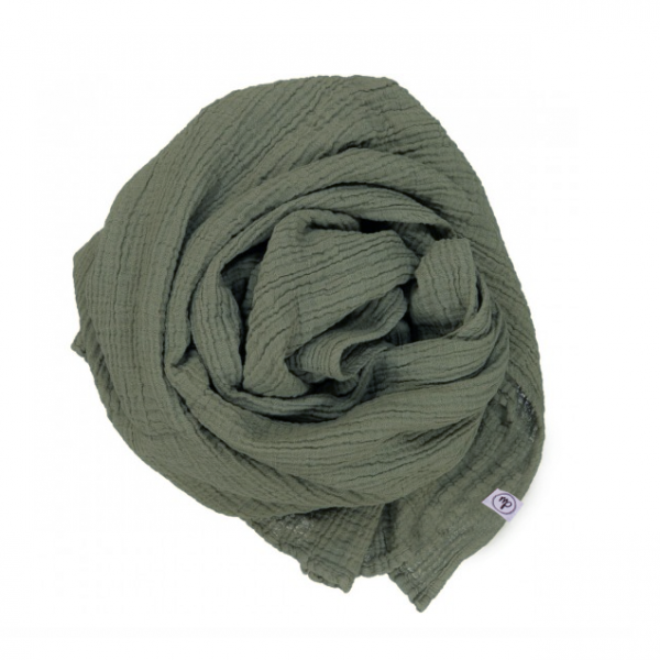 Musselin Tuch Olive