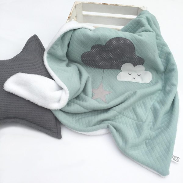 Babydecke-Cloudy