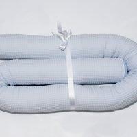 Bettschlange_Waffelpiqué-hellblau