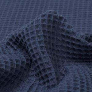 Waffeljacquard Mightnight Blue